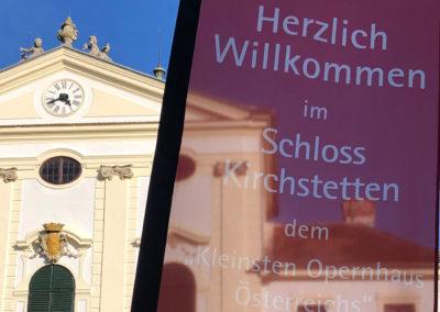 Herzlich Willkommen im Schloss Kirchstetten