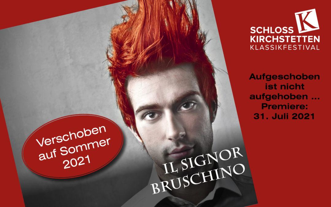 """Oper """"Il signor Bruschino"""" aufgrund der Corona-Krise auf 2021 verschoben"""